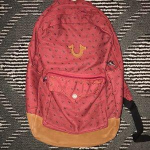 Brand new true religion back pack